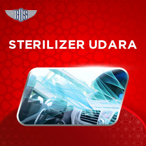 Sterilizer Udara Membunuh Kuman dan Bakteri
