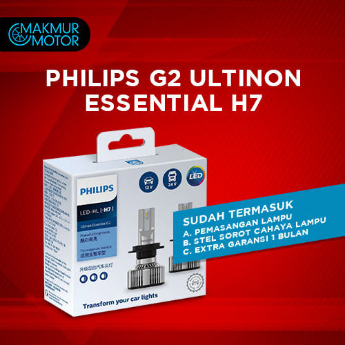 PHILIPS G2 ULTINON ESSENTIAL H7