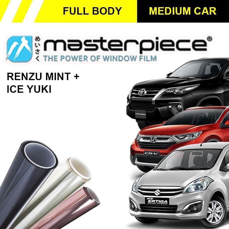Masterpiece Renzu Mint & Ice Yuki Kaca Film Mobil for Medium Car