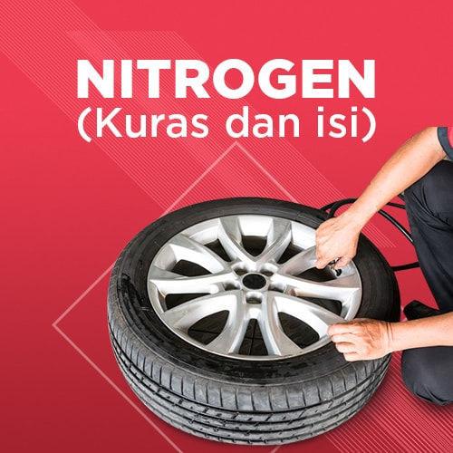 Paket Nitrogen (Kuras dan Isi)