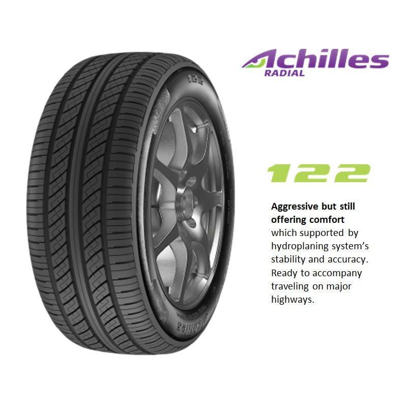Achilles 122 175/65-14 Ban Mobil [Free Pasang Balance Nitrogen]