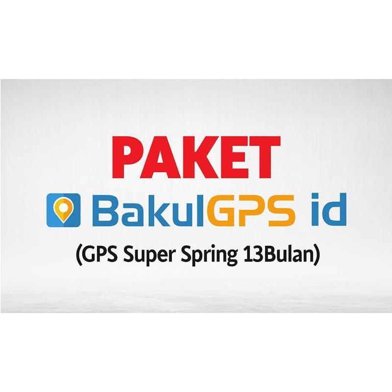 Bakulgps.id Super Spring Paket GPS [13 Bulan]