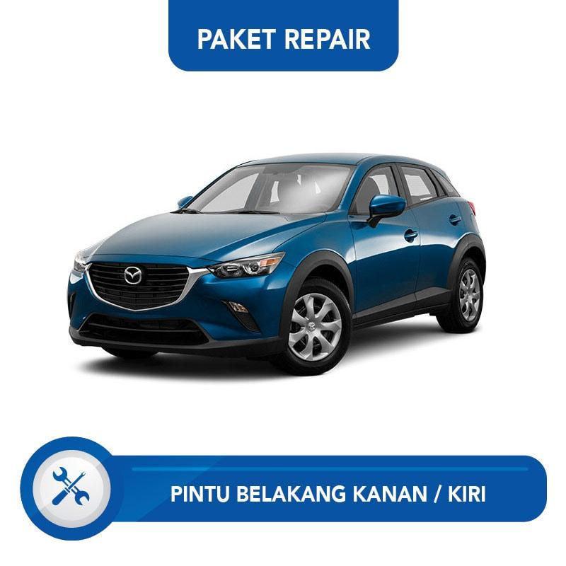 Subur OTO Paket Jasa Reparasi Ringan & Cat Pintu Belakang Kanan Kiri for Mobil Mazda CX-3