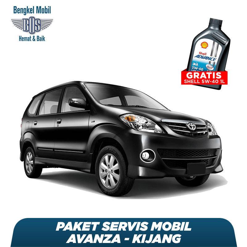 Paket Servis Mobil Avanza/Kijang Gratis Oli Shell 1 Liter HX7 5W - 40