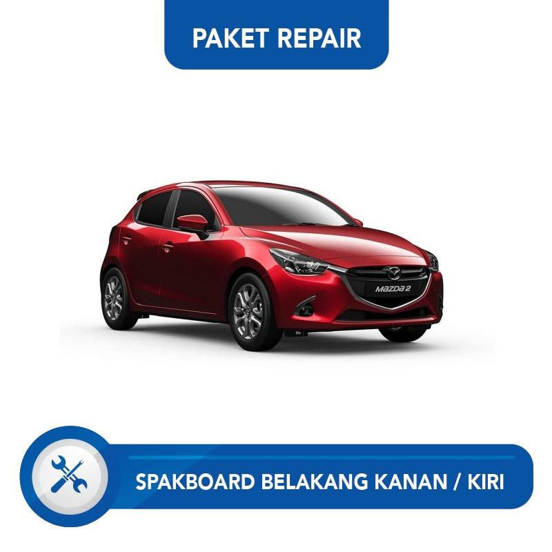 Subur OTO Paket Jasa Reparasi Ringan & Cat Spakbor Belakang Kanan atau Kiri Mobil for Mazda 2