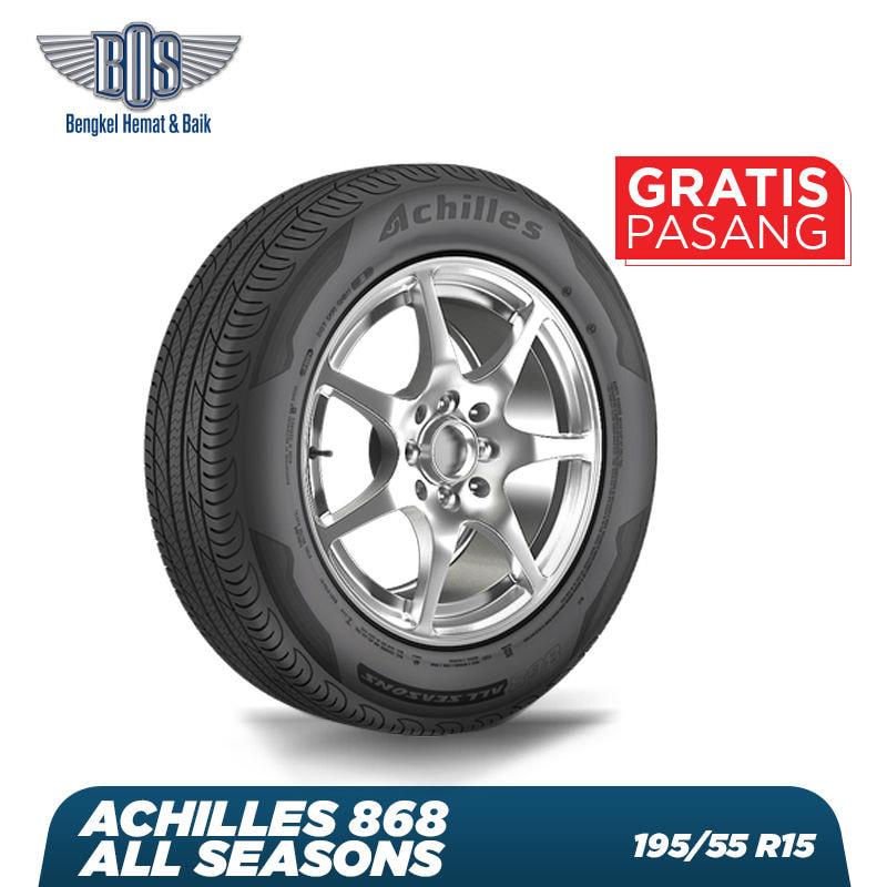 Ban Mobil Achilles 868 All Seasons - 195/55 R15 85V - GRATIS JASA PASANG DAN BALANCING