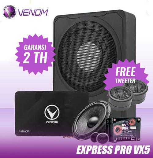 Audio Mobil - VENOM PAKET EXPRESS PRO VX5