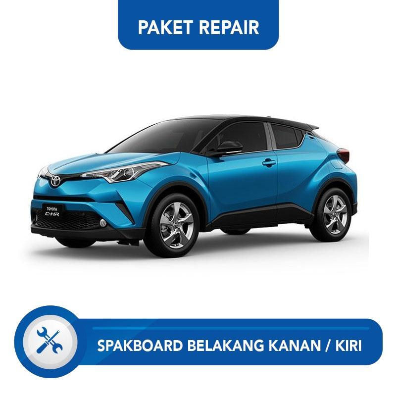 Subur OTO Paket Jasa Reparasi Ringan & Cat Spakbor Belakang Kanan atau Kiri for Mobil Toyota CHR