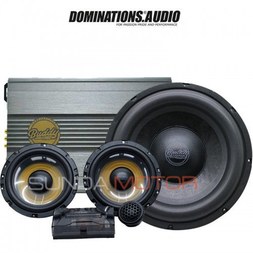 Dominations Buddy Series - Paket Audio 2ways Komponen