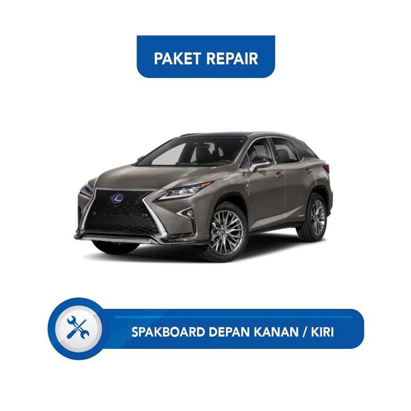 Subur OTO Paket Jasa Reparasi Ringan & Cat Mobil for Lexus RX [Spakbor Depan Kanan atau Kiri]