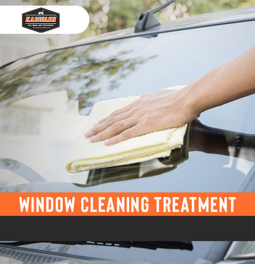 Window Cleaning Treatment