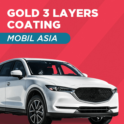 Gold 3 Layers Coating - Mobil Asia