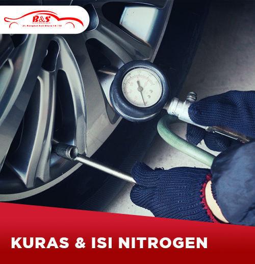 Kuras dan Isi Nitrogen Mobil (Area Surabaya)