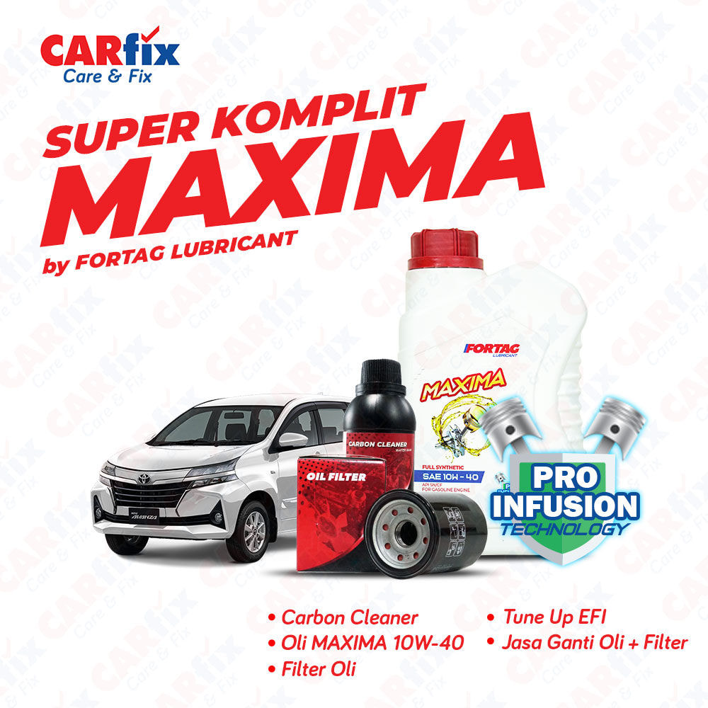 Paket Service Super Komplit Fortag Maxima - Jateng+DIY