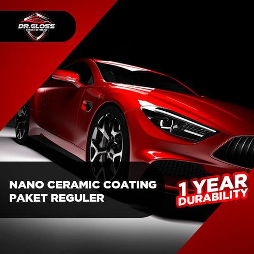 Nano Ceramic Coating Paket Reguler (1 years durability)