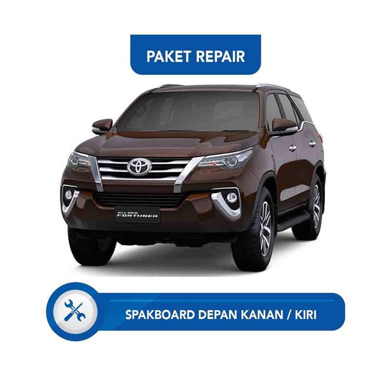 Subur OTO Paket Jasa Reparasi Ringan & Cat Mobil for Toyota Fortuner [Spakbor Depan Kanan or Kiri]
