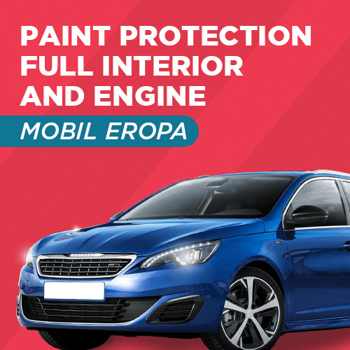 Home Service - Paint Protection Full Interior and Engine - Mobil Eropa