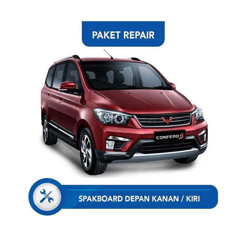 Subur OTO Paket Jasa Reparasi Ringan & Cat Mobil for Wuling Confero [Spakbor Depan Kanan or Kiri]