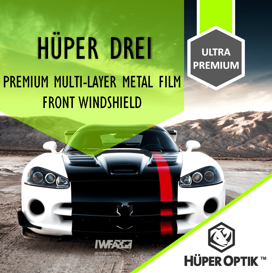 Kaca Depan/Front Windshield Huper Drei (All Type)