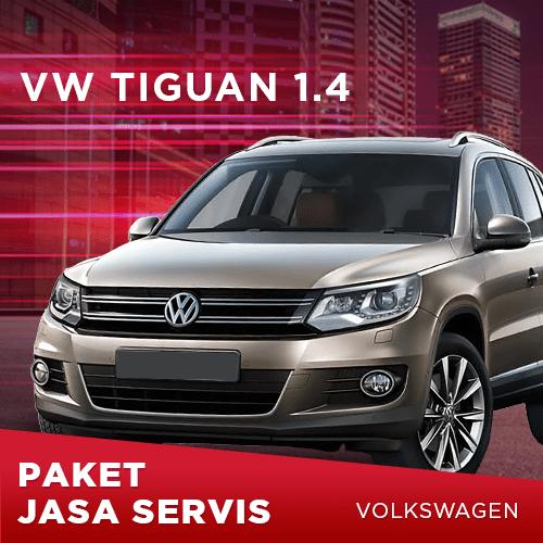 Servis Berkala VW Tiguan 1.4 TSI (2013 – 2015)
