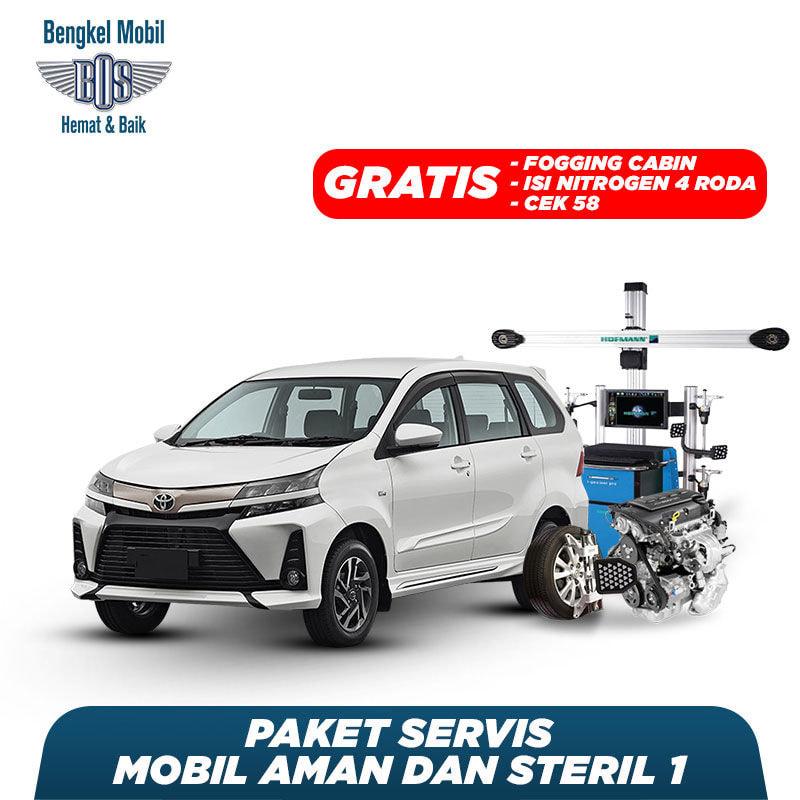 Paket Mobil Aman dan Steril 1 Free Fogging (Avanza/Kijang Bensin/Xenia/Luxio/Grandmax/Timor/Ertiga/Baleno/Wulling All Model)