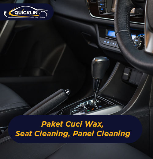 Paket Cuci Wax, Seat Cleaning, Panel Cleaning