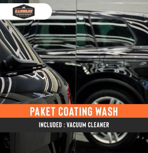 Paket Cuci Mobil Coating wash