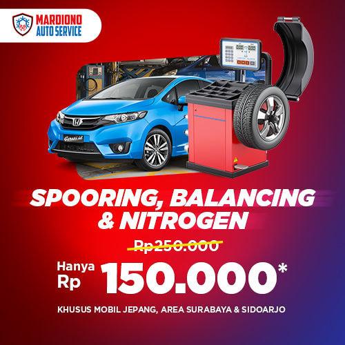 Spooring, Balancing, Nitrogen
