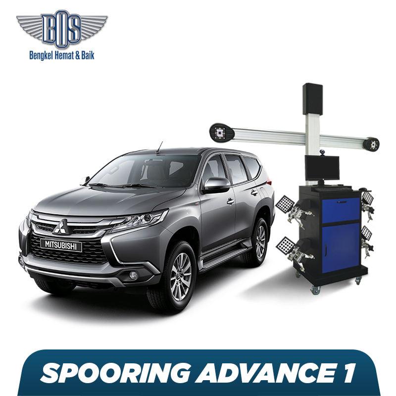 Spooring + Free Check-Up 58 Komponen Kendaraan