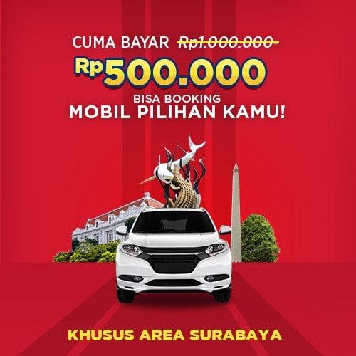 Booking Fee Mobil Pilihan Garasi.id Surabaya