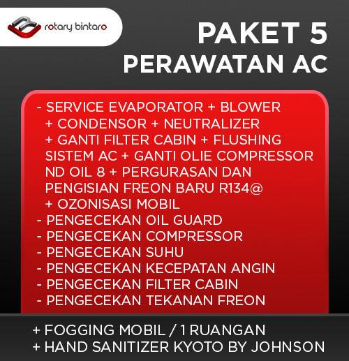 Paket Perawatan AC 5