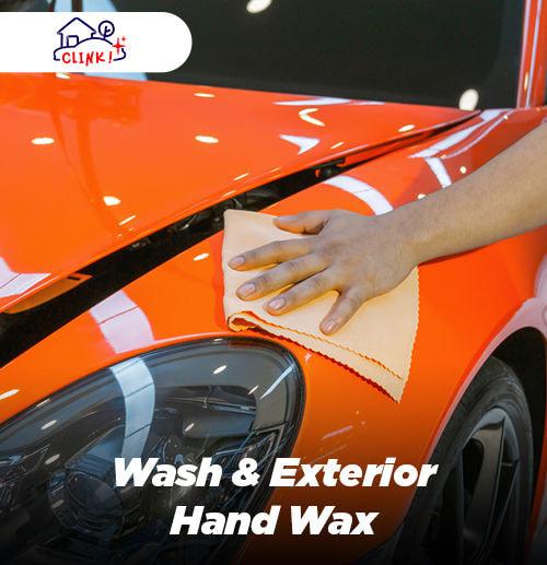 Wash & Exterior Hand Wax