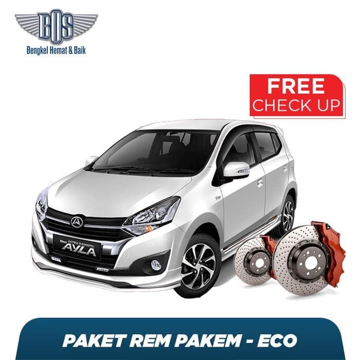 Paket Pakem Eco Free Check-Up 58 Komponen Kendaraan