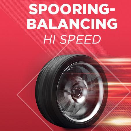 Paket Spooring - Balancing Hi Speed