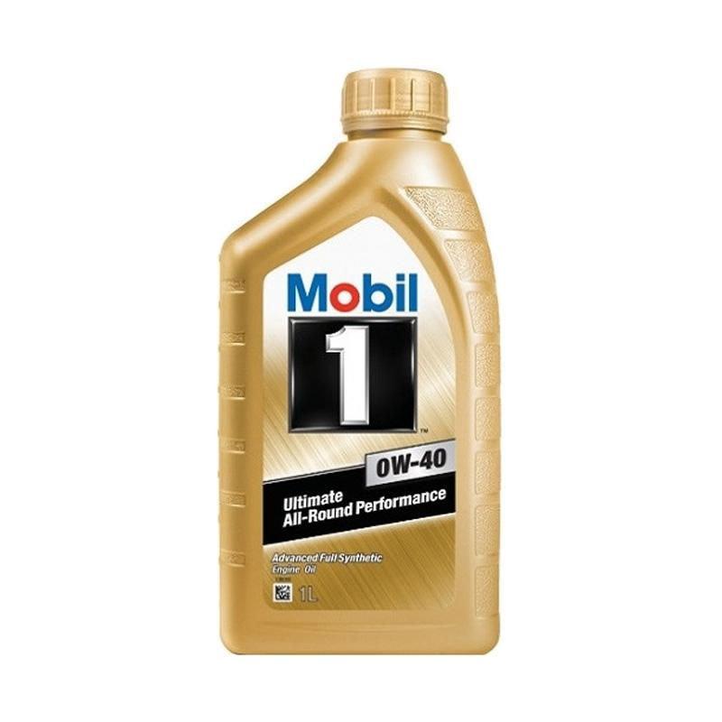 Paket 4 Liter Mobil 1 Advanced Full Synthetic 0W-40 Oli Mobil [GRATIS PENGGANTIAN]