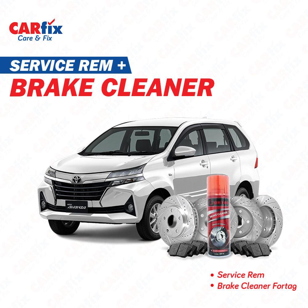 Service Rem FIX + Brake Cleaner - Jabodetabek
