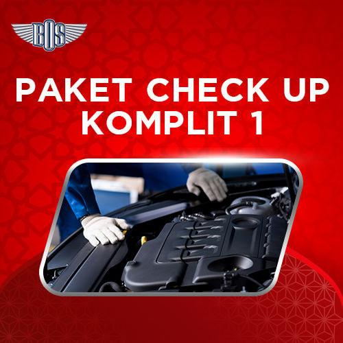 Paket Checkup Komplit 1 Bengkel BOS