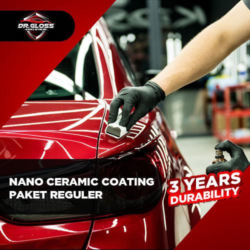 Nano Ceramic Coating Paket Reguler (3 years durability)