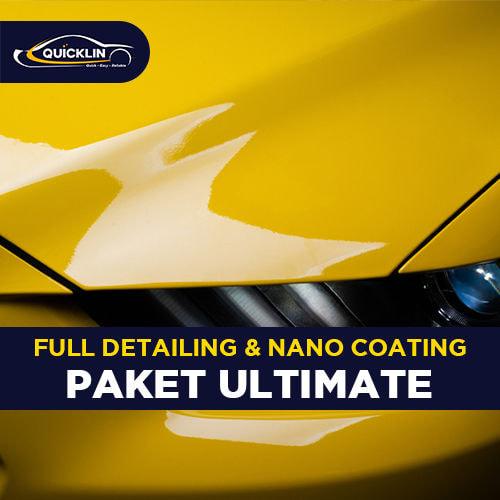 Full Detailing & Nano Coating (Paket Ultimate)
