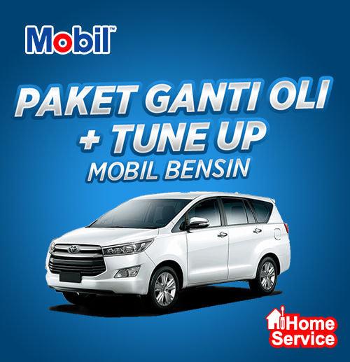 Flat Price - Ganti Oli + Tune Up Mobil Bensin