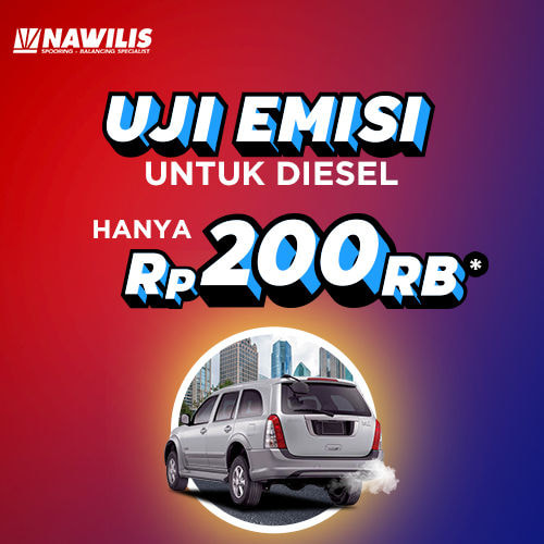 Uji Emisi Khusus [Mobil Diesel]