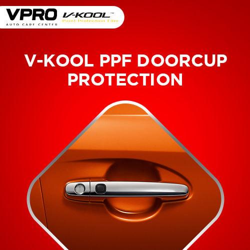 V-Kool PPF Doorcup Protection
