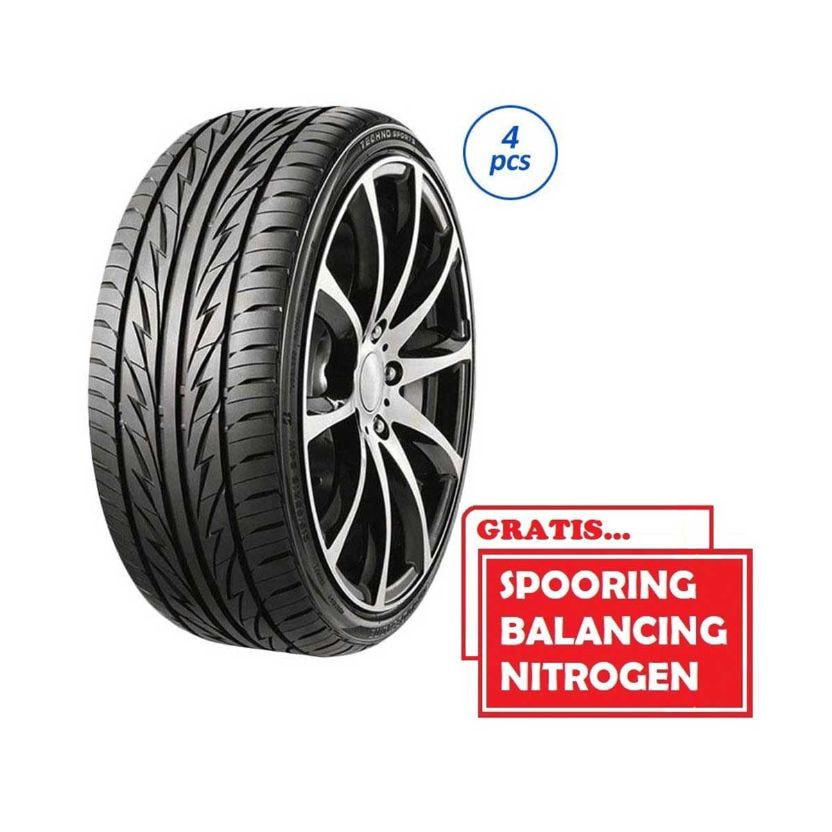 Bridgestone Techno Sport 205-55 R16 91V SP Ban Mobil [Gratis Pasang,Spooring Balance & Nitrogen]