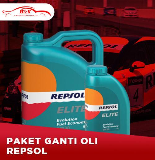 Ganti Oli Repsol 4 liter (Surabaya)