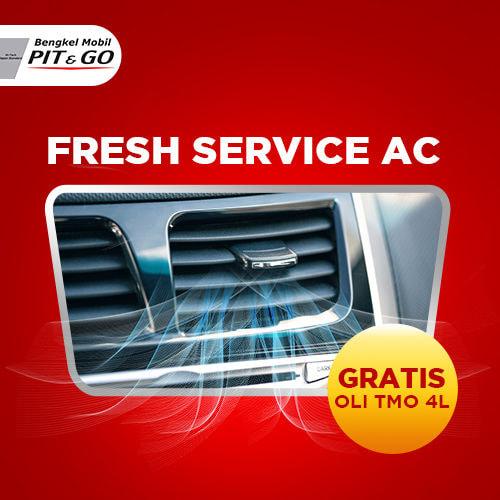 Fresh Service AC + Gratis Oli TMO 4L