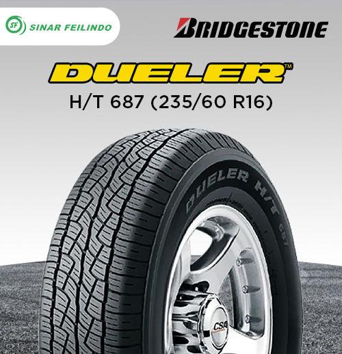 Bridgestone Dueler H/T 687 235/60 R16