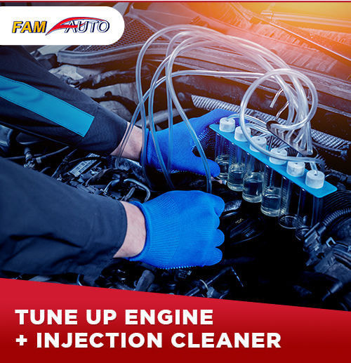 Tune Up Engine + Injection Cleaner