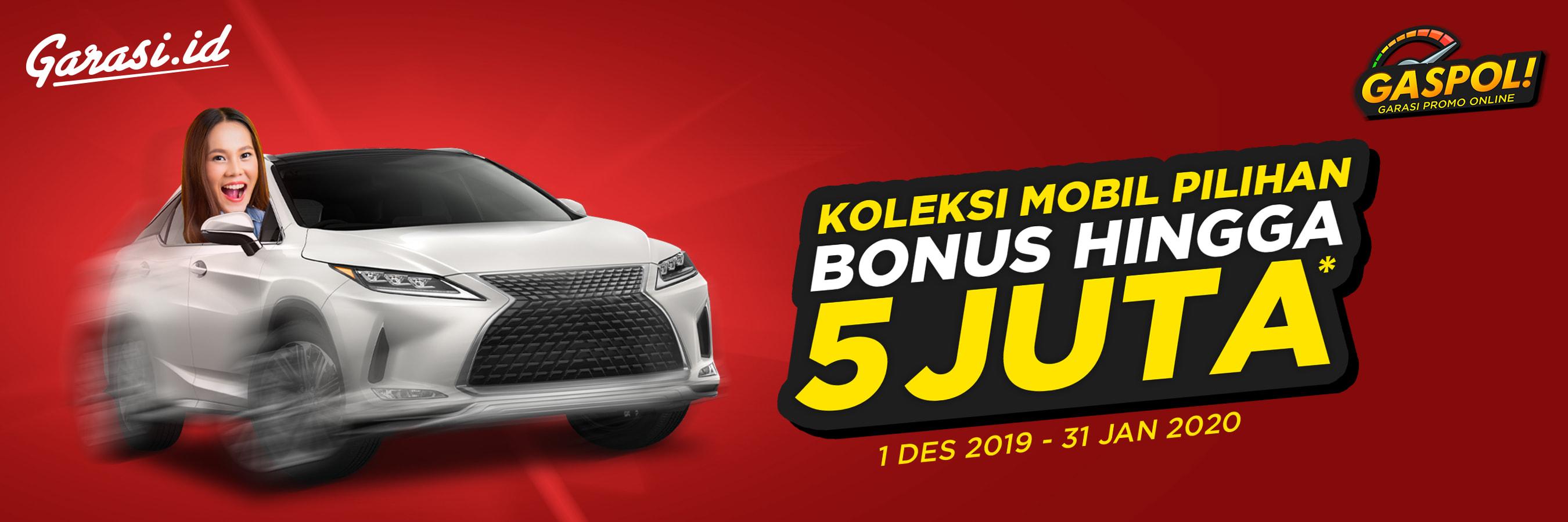 Beli Mobil Dapat Bonus 5 Juta