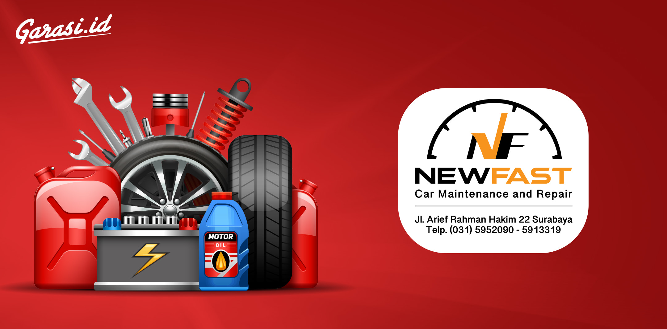 New Fast Car Maintenance and Repair