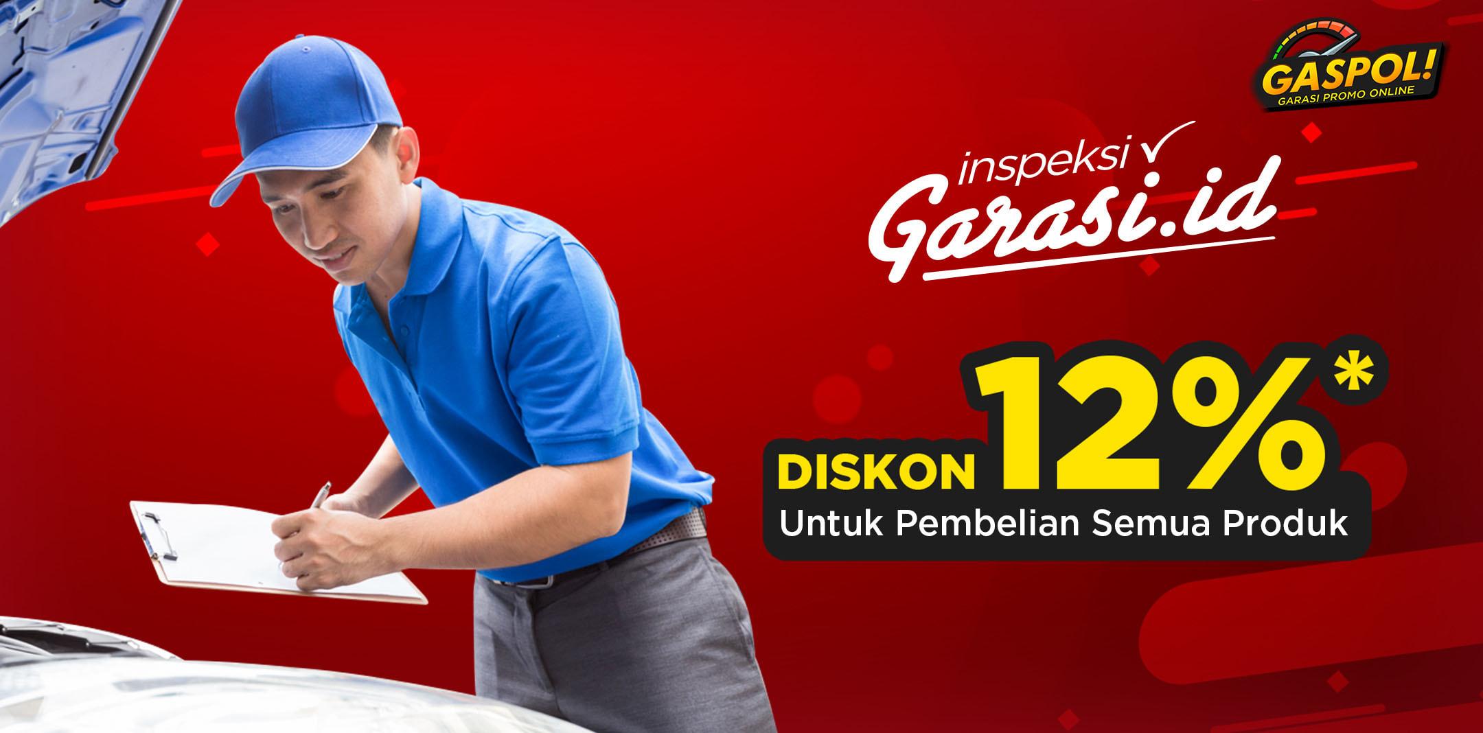 Inspeksi Mobil sekarang dan klaim kupon potongan harga, selama periode GASPOL